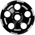 Picture of Bosch 5 in. Double Row Segmented Diamond Cup Wheel for Concrete